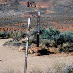 Anasazi Valley Trail signs