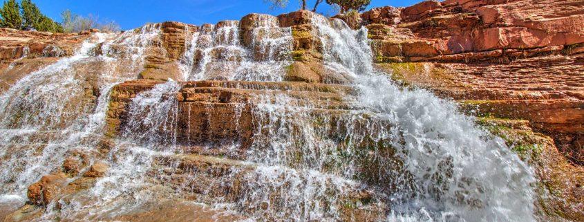 Toquerville Falls Southern Utah