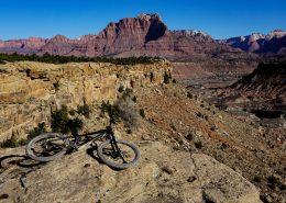Mountain Bike near Zion