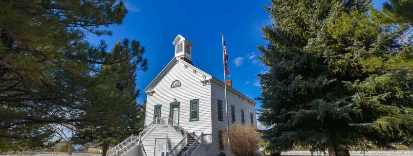 the Pine Valley Chapel in Utah
