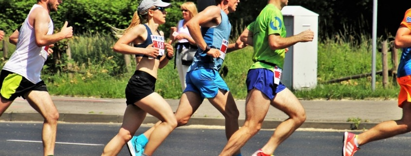 runners at the st.george marathon