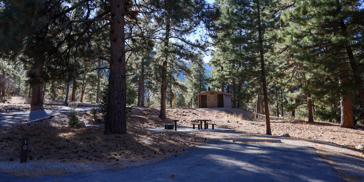 Camping in Pine Valley Recreation Area - Crackfoot ...